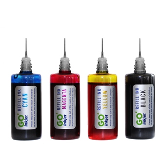 Black and Colour Ink Refill Kits for Canon Printers