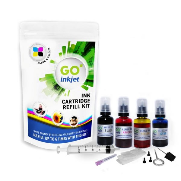 Epson Ink Cartridge Refill Kit Black and Colour