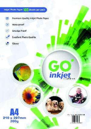 GO Inkjet A4 Photo Paper Glossy 200gsm 100 sheets