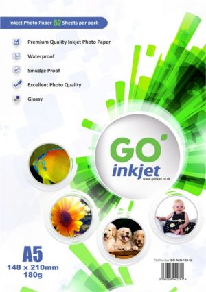 A5 Photo Paper 180gsm 50 sheets